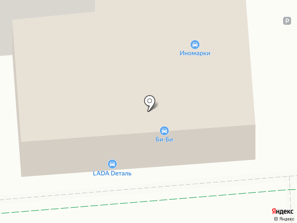 LADA Деталь на карте Люберец