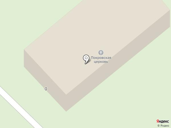 Храм Покрова Пресвятой Богородицы на карте Балашихи