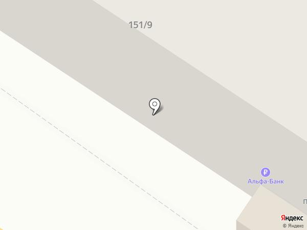 Белль на карте Люберец