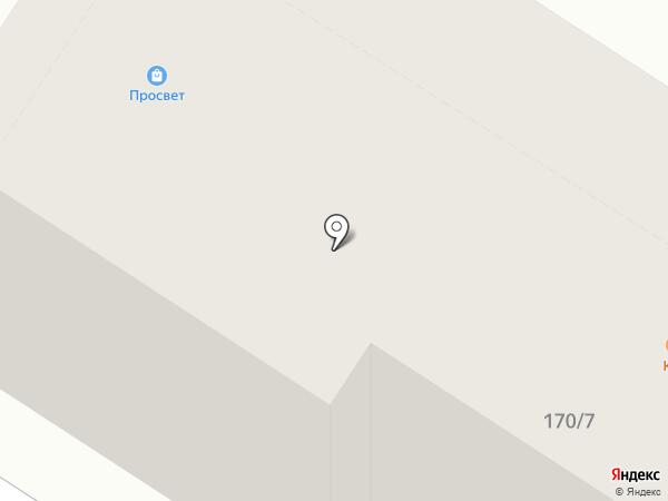 Лифтремонт, ЗАО на карте Люберец