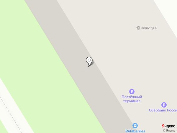Почтовое отделение №140082 на карте Лыткарино