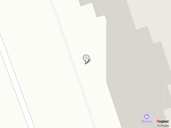 Прибрежный на карте Лыткарино