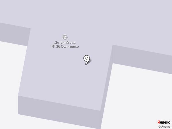 Детский сад №26 на карте Старого Оскола