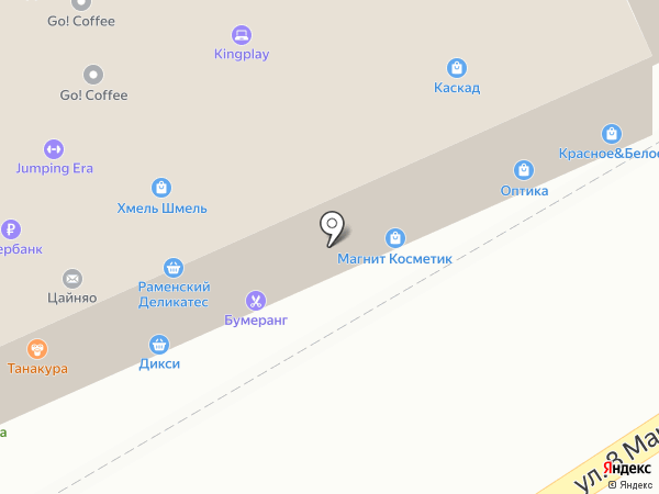Рублёвский на карте Люберец