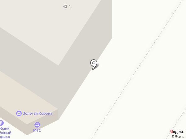 Золушка на карте Люберец