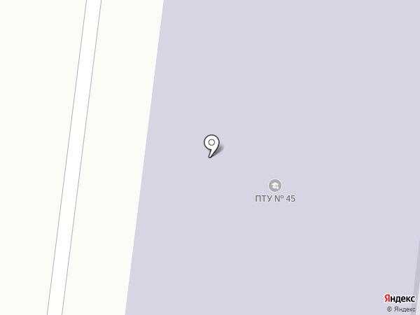 Ясиноватское профессионально-техническое училище на карте Ясиноватой