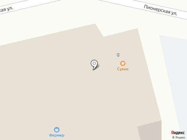 Сукно на карте Домодедово