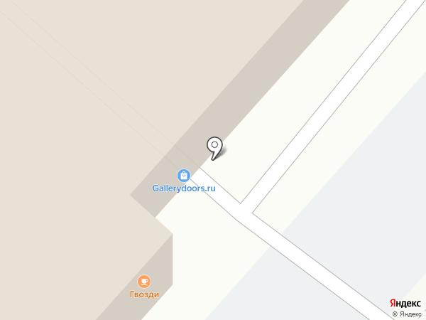 Моэль на карте Люберец