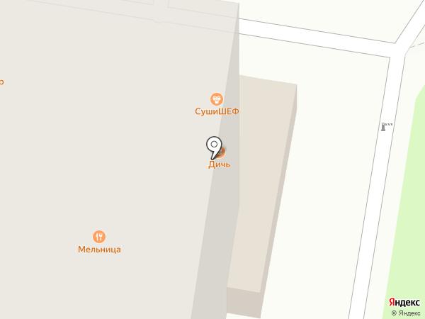 Балагур на карте Балашихи