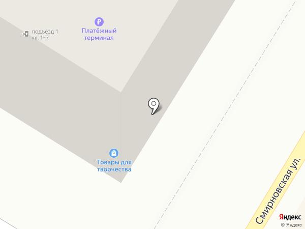 Магазин табачной продукции на карте Люберец