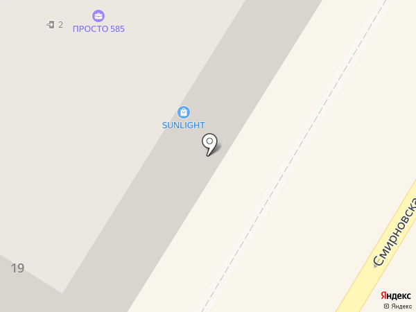 Булочная №1 на карте Люберец