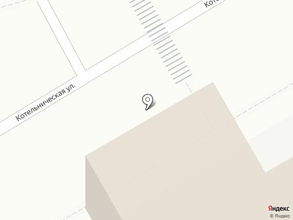 На Котельнической на карте Люберец