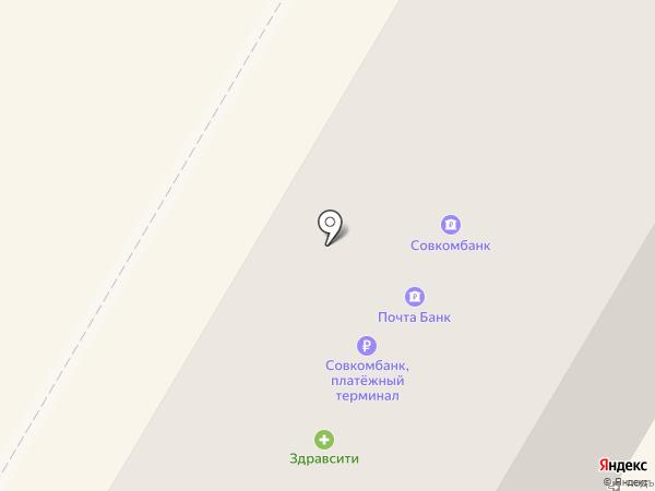 Комус на карте Люберец