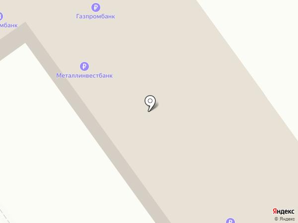Газпромбанк на карте Старого Оскола