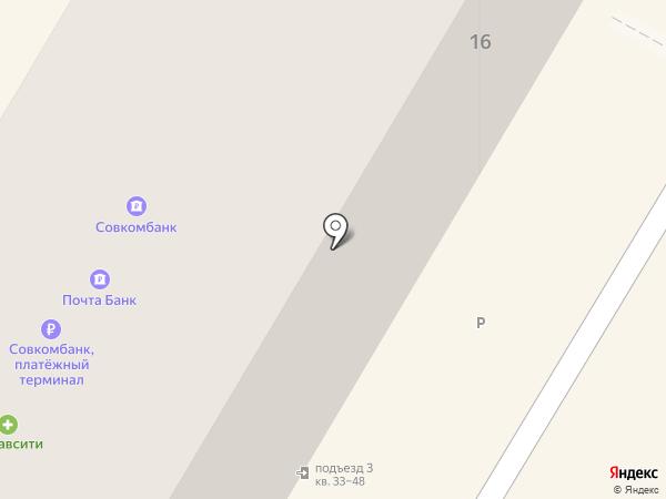 Авива на карте Люберец