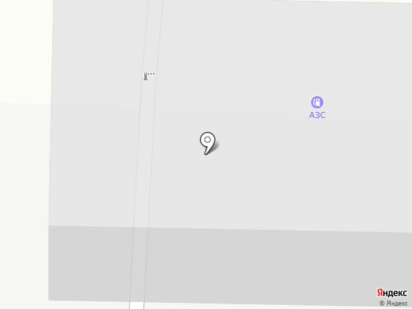 АЗС ТНК на карте Ивантеевки