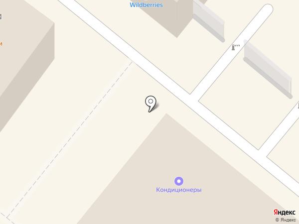 Красотка на карте Люберец