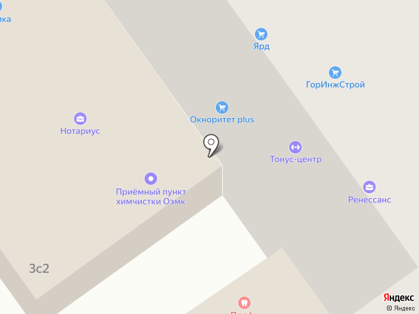 ОЭМК на карте Старого Оскола