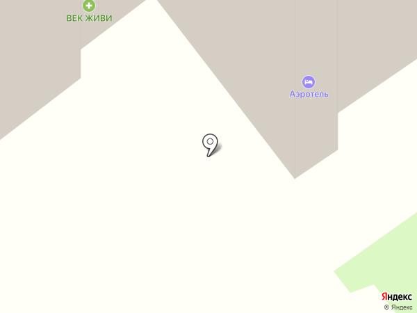 Аэротель на карте Домодедово