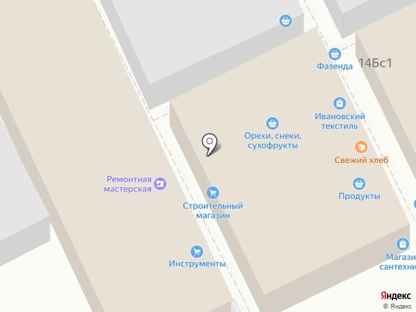 Ремонтная мастерская на карте Люберец