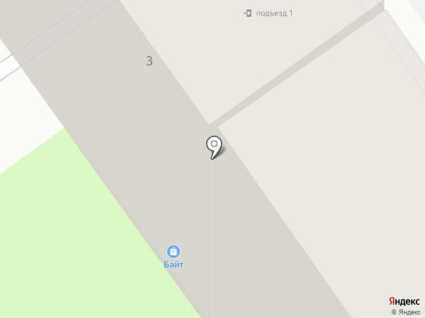 Байт на карте Старого Оскола