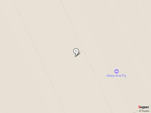 Аэроэкспресс на карте Домодедово