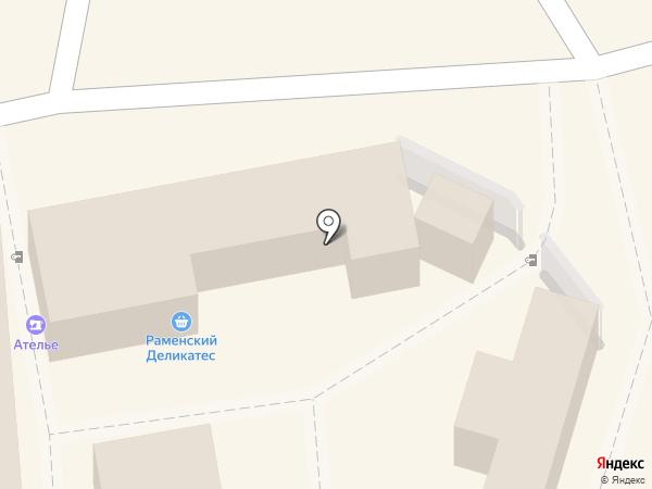 Ярмарка на карте Люберец