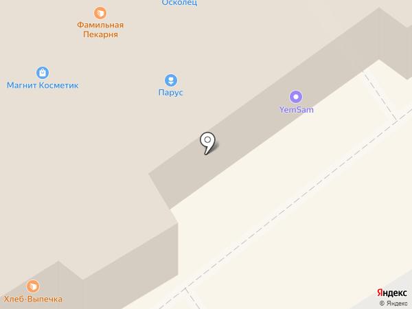 Нотариус Хохрина В.В. на карте Старого Оскола