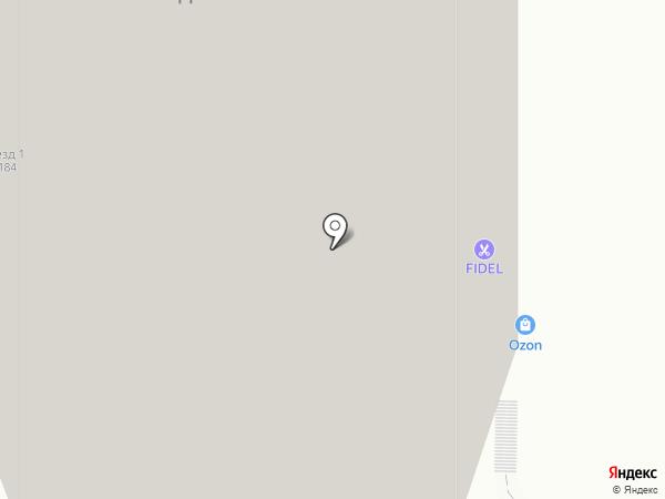 ЭверВЕТ на карте Москвы