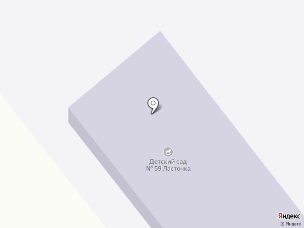 Ясли-сад №59 на карте Макеевки