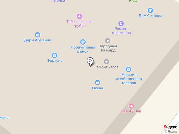Азиза на карте Люберец