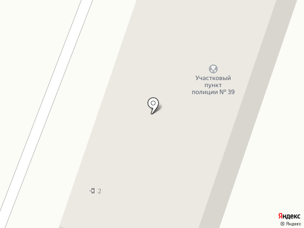 Участковый пункт милиции №39 на карте Макеевки