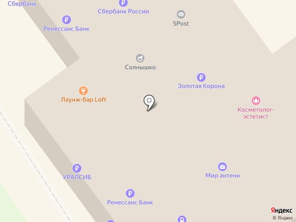 Банк Уралсиб, ПАО на карте Старого Оскола