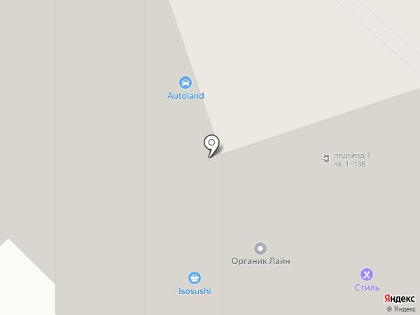 Красное & Белое на карте Лыткарино