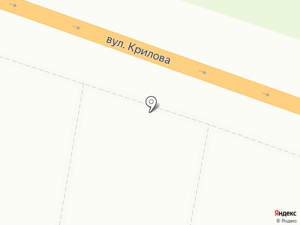 Ласточка на карте Макеевки