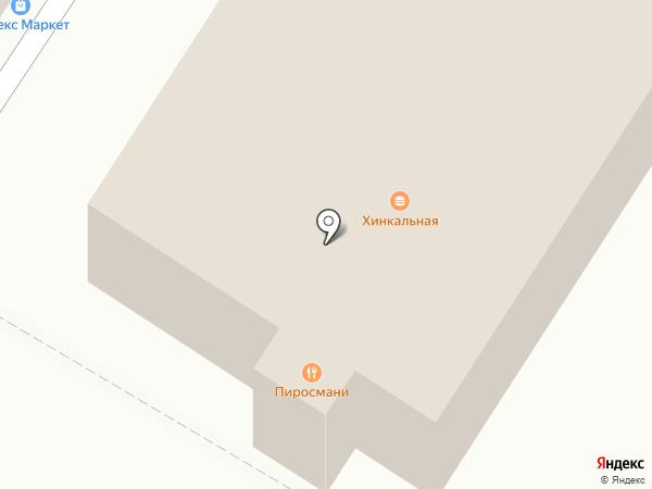 Пиросмани на карте Люберец
