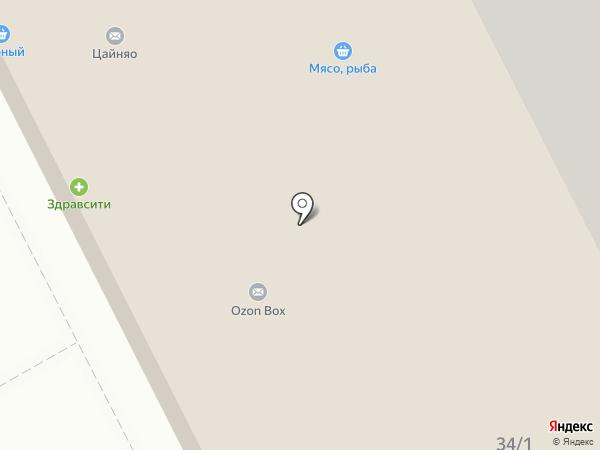 Живика на карте Люберец