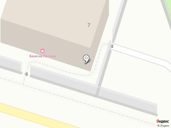 Акваматиба на карте Лыткарино