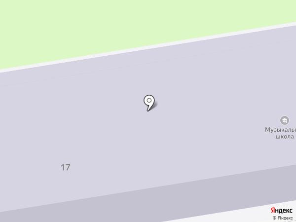 Детская музыкальная школа на карте Ивантеевки