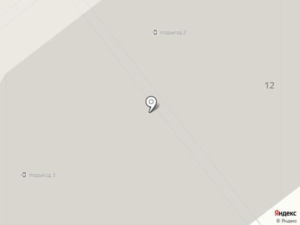 Центральный на карте Лыткарино
