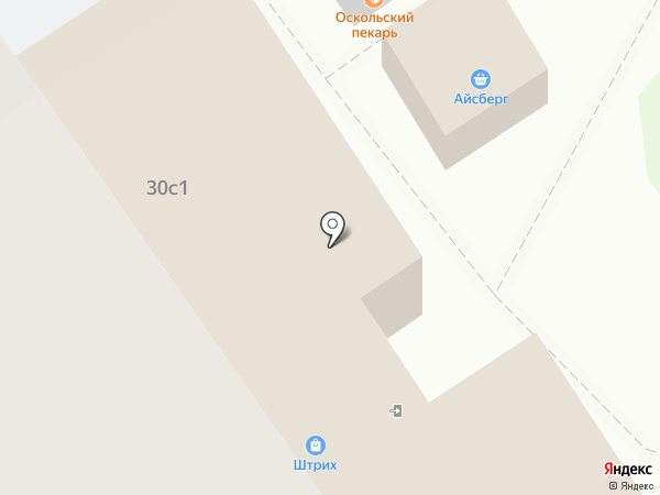 Штрих на карте Старого Оскола