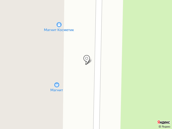 Магнит Косметик на карте Лыткарино