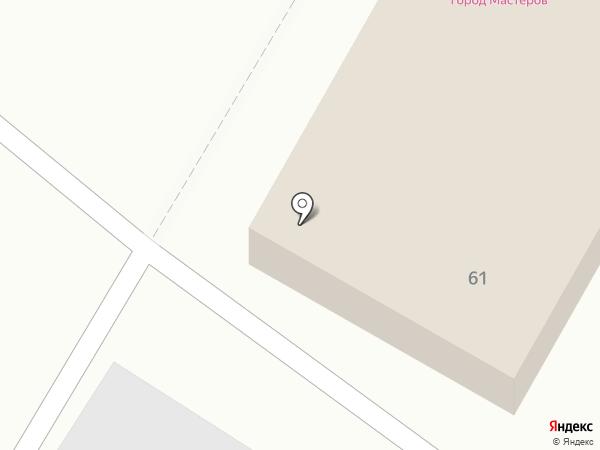 Вансон на карте Люберец
