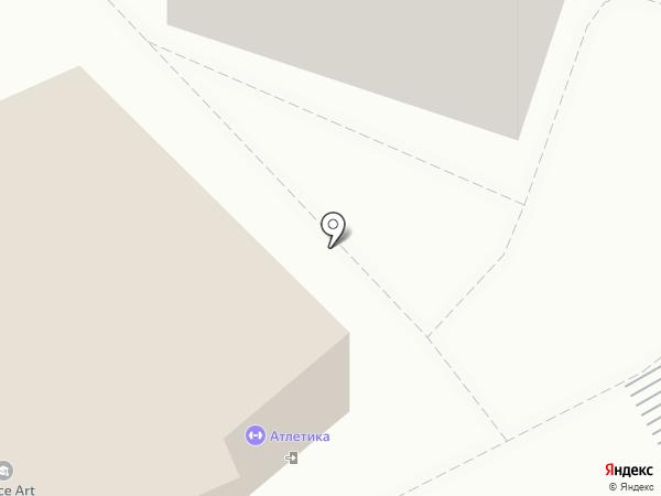 Атлетика на карте Люберец