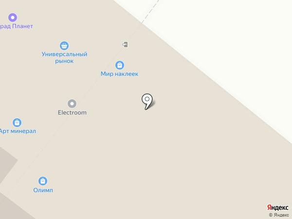 Юлсан на карте Люберец