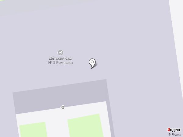 Детский сад №5 на карте Ивантеевки