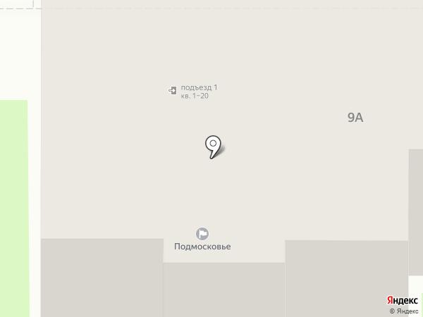 Подмосковье на карте Ивантеевки