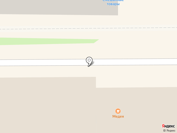 Медея на карте Лыткарино