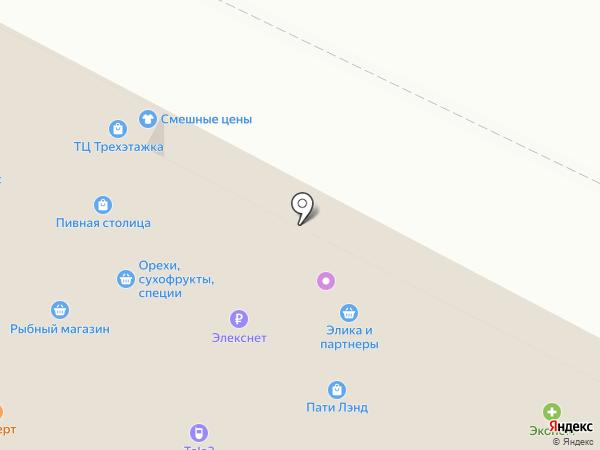 Связной на карте Ивантеевки