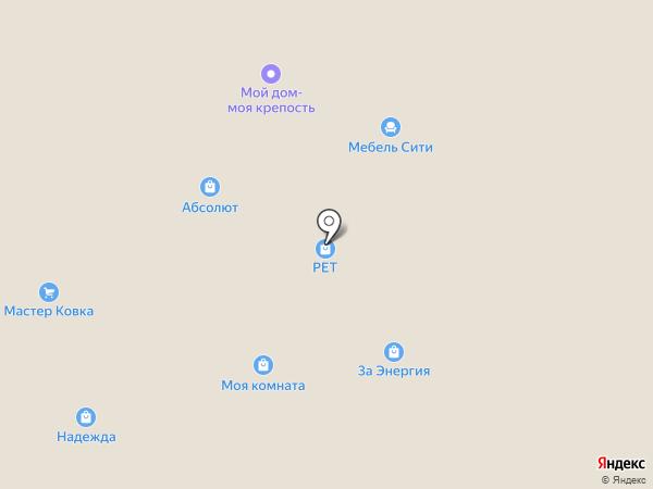 Торговая компания Веста на карте Старого Оскола